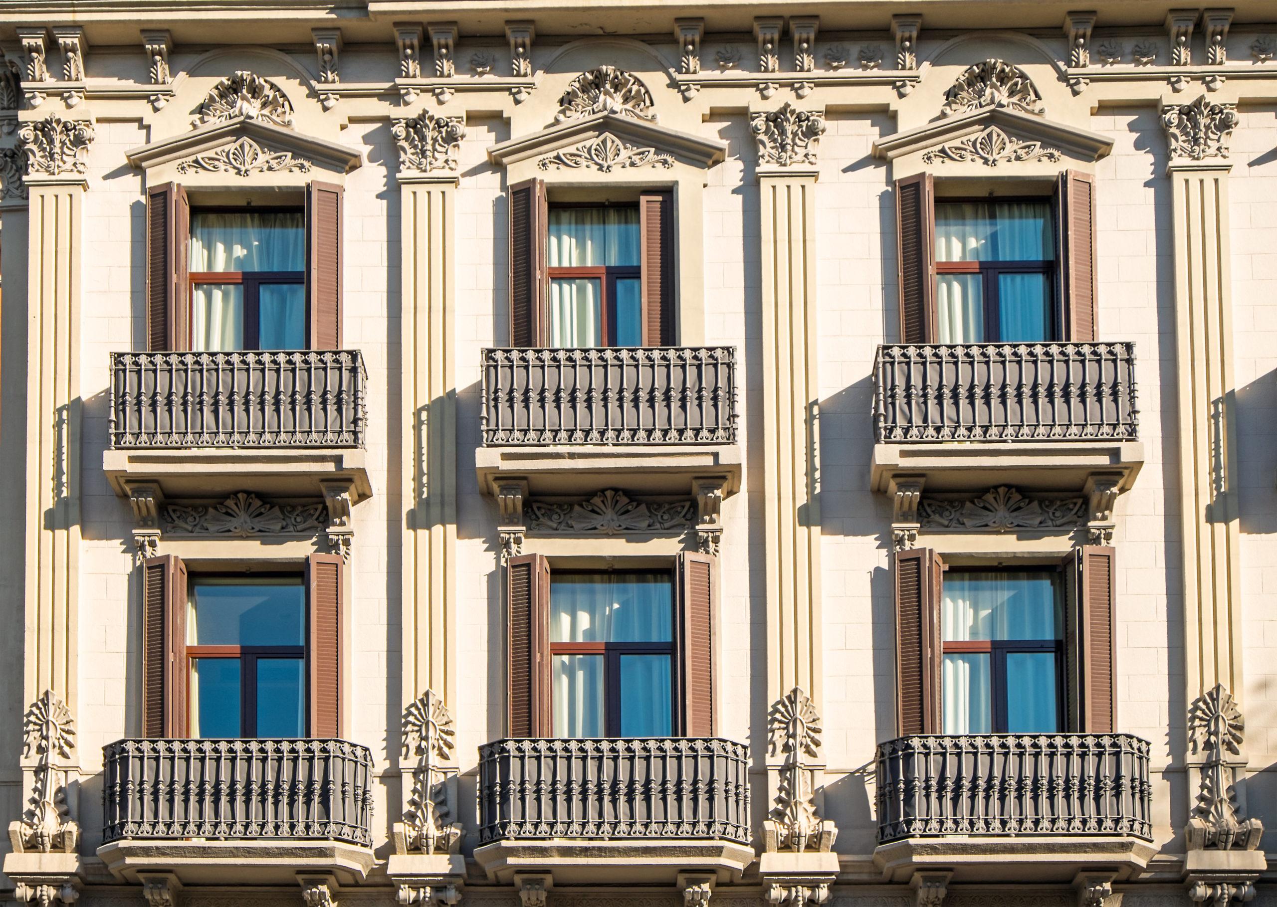 fachada de edificio